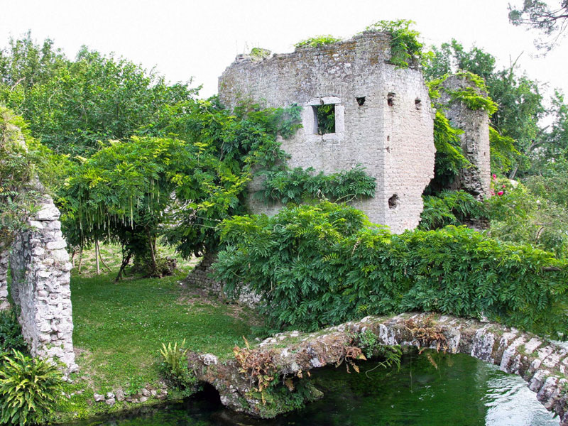 The Garden of Nimfa - see it on a day-trip from Rome