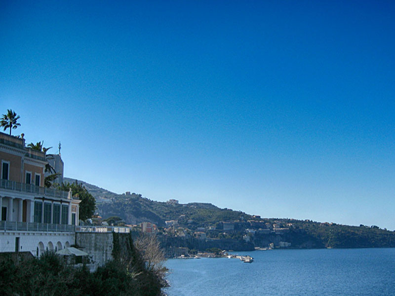 Sorrento is easy accessible from Rome on a day-trip.